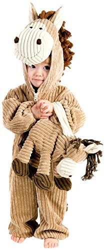 Princess Paradise Baby's Corduroy Horse Deluxe Costume, As Shown, 18M/2T
