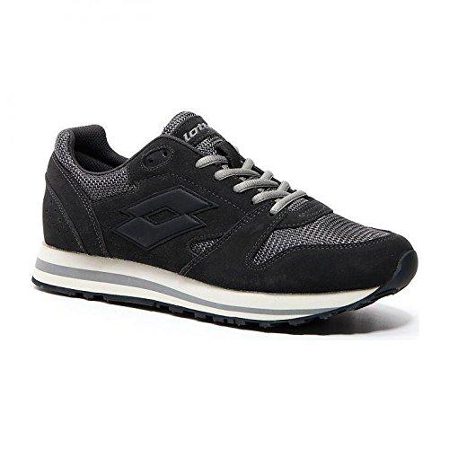 Homme Gris Chaussures Xi De asphalt Lotto blk Fitness 020 Trainer Net wxRpYn0Ag