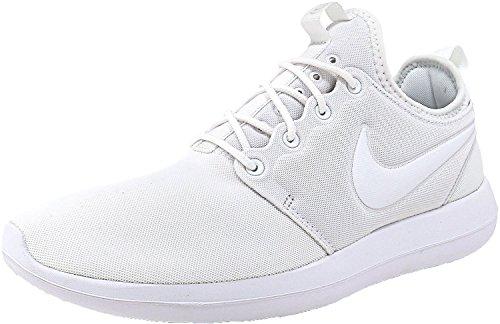 Nike Unisex-Erwachsene W Roshe Two Laufschuhe Blanco (Blanco (white/white-pure platinum))