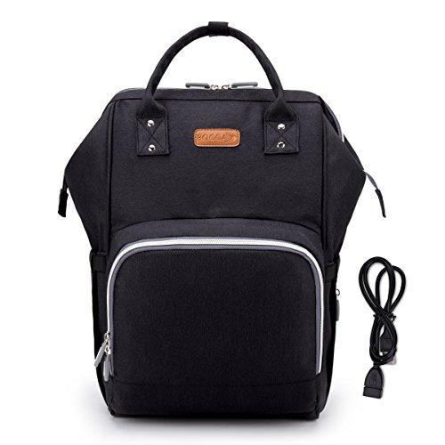 BOCCA Diaper Bag, Muti-functional Durable Waterproof Backpac
