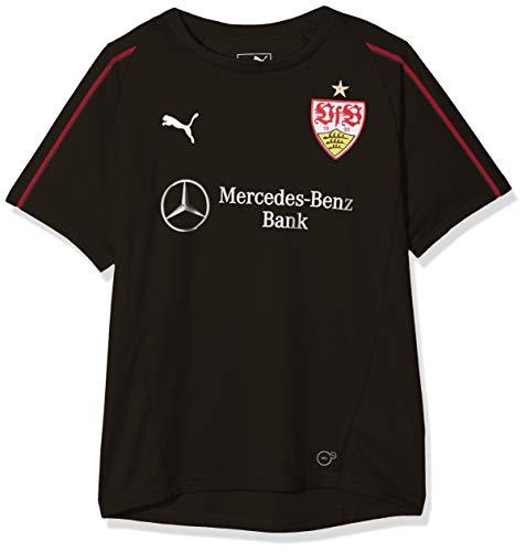 ribbon Puma maglia Black Unique Stuttgart da Taille Vfb Red allenamento sponsor con qtr8tv