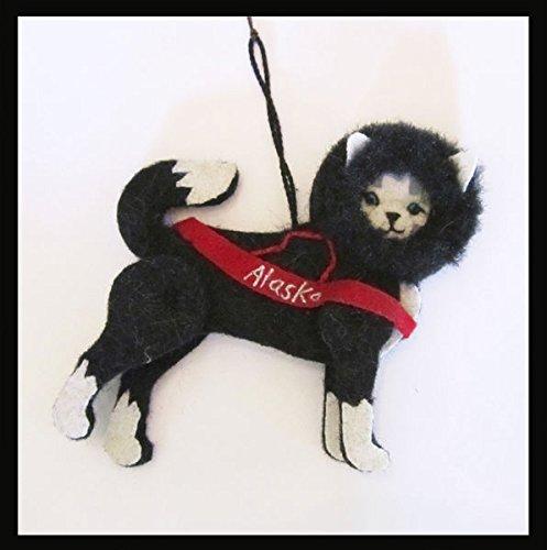 Alaska Recycled Wool Ornament Eskimo (Eskimo Ornament)