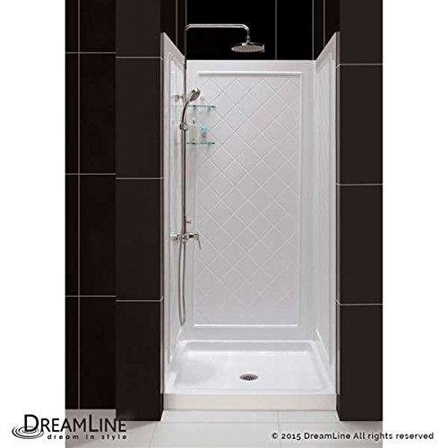 "DreamLine SlimLine 36"" x 36"" Single Threshold Shower Base &"