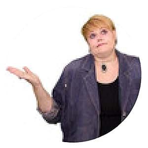 alfombrilla de ratón Mujer madura Body Language - No sabe - ronda - 20cm