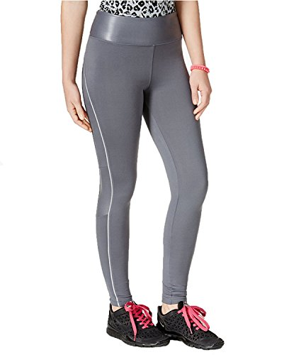 Jessica Simpson Shine Trim Active Leggings Jazzy Grey Size X-Small
