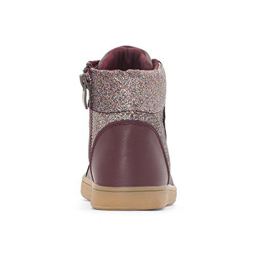 La Redoute Collections Mdchen Sneakers Pailletten, Gr. 2639 Gre 32 Rot