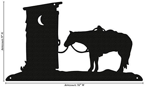 Western Metal Art Silhouettes - 5