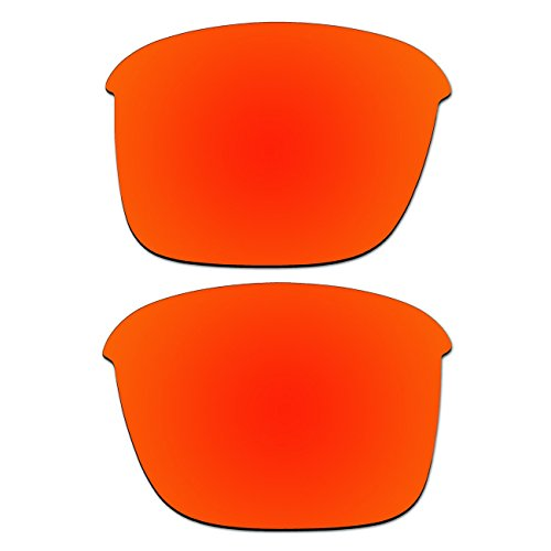 Replacement Fire Red Polarized Lenses for Oakley Thinlink - Iridium Lenses Polarized Fire Oakley