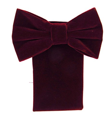 (Oliver George Velvet Bow Tie Set)