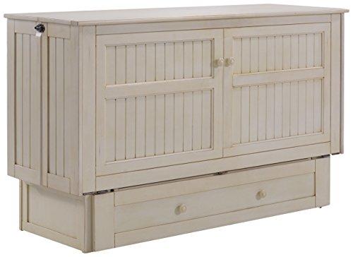 Night & Day Furniture Daisy Murphy Cabinet Buttercream, Queen