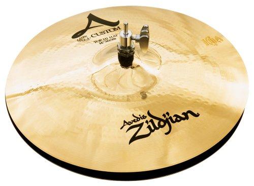 Zildjian A Custom 14'' Hi Hat Cymbals Pair by Avedis Zildjian Company