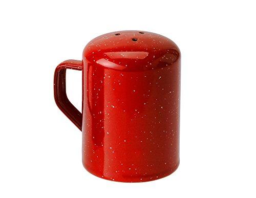 GSI Outdoors Red Graniteware Salt Shaker