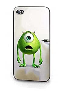 Mike Wazowski, Monsters University Charming Cartoon Movie Plastic Carcasa Para Iphone 5/5s Fashion Style Phone Shell Cover Para Young