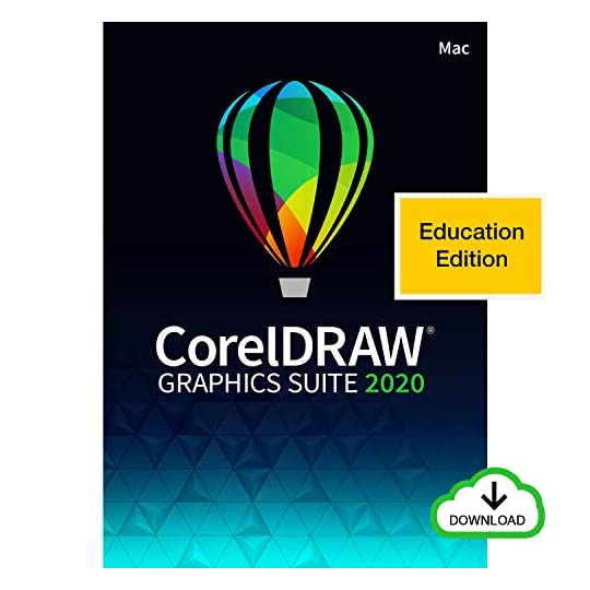 CorelDRAW Graphics Suite 2020   Graphic Design, Photo, and Vector Illustration Software   Education Edition [Mac…