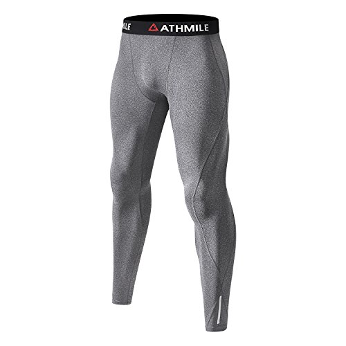 Men's Compression Pants by Athmile,Base Layer Cool Dry Sports Tights Leggings for Men