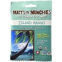 Matt's Munchies The Premium Fruit Snack Island Mango 1 Oz. Pack Of 3.