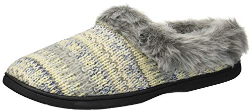 Heather Slipper Grey Women's Clog Knit Dearfoams Light YXqtYa