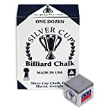 Silver Cup Pewter Billiard Chalk Made in USA - 12