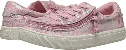 BILLY Footwear Kids Baby Girl's Classic Lace Low (Toddler/Little Kid/Big Kid) Rose Metallic 4 M US Big Kid M