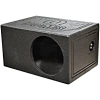 Q Power QBOMB10VL Single 10 QBomb Side Ported Subwoofer Enclosure
