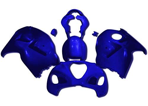 (Sportbike Deals AZDS410BLU Body Kit (Suzuki Hayabusa 99-07 Abs Plastic Painted Blue))