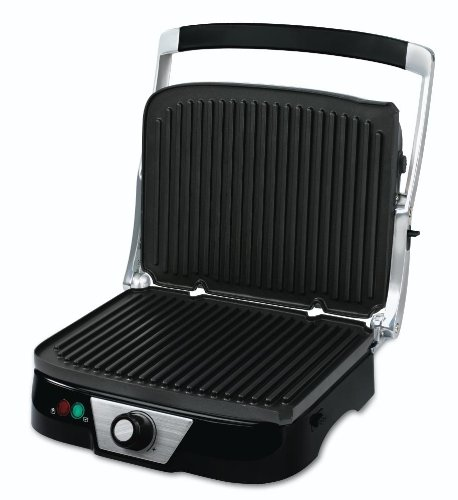 Oster CKSTPM5450 Panini Maker with Removable Plates, Black (Oster Flat Grill compare prices)