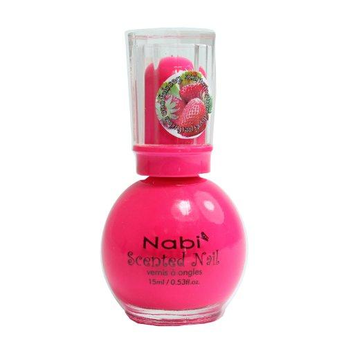 Nabi Scented Nail Polish, 32 Hot Pink