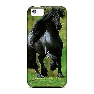 meilz aiaiCaroleSignorile Cases Covers Protector Specially Made For iphone 4/4s Black Horsemeilz aiai