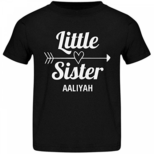 Cute Little Sister Aaliyah  Jersey Toddler T-Shirt - Buy Online in Oman.  95da2b357
