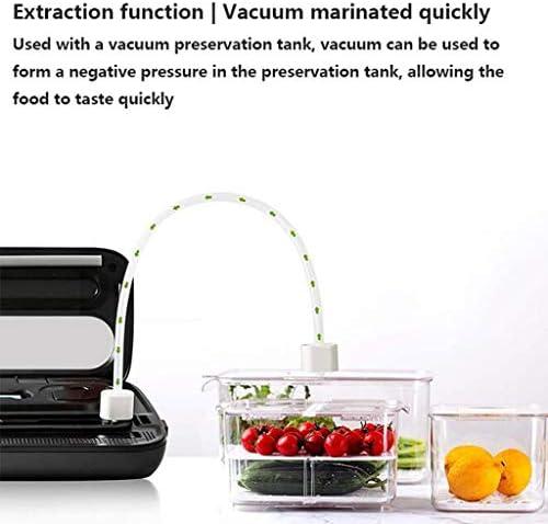 JHEY Appareils de Mise sous Vide en Plastique Machines d'emballage et Sec Nourriture Humide Scellant, Saver Alimentaire Vide Sacs Sealer