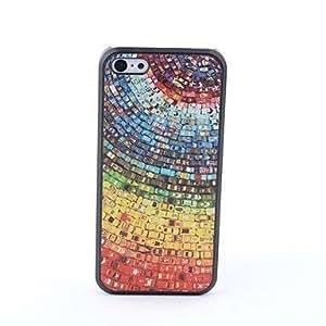 HC- caso trasero protector colores estilo para 5c iphone