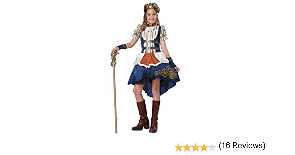 Disfraces de California Steampunk Fashion niña Teen Disfraz S ...