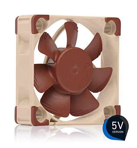 Noctua NF-A4x10 5V, Premium Quiet Fan, 3-Pin, 5V Version (40x10mm, Brown) ()