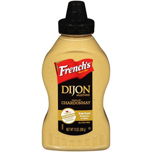 French's Dijon Mustard, Gluten Free Gourmet Mustard with Chardonnay Wine, 12 oz ()