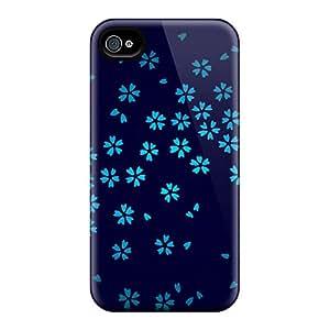 Brand New 4/4s Defender Case For Iphone (blue Sakura)