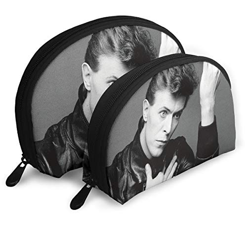 - Gltiosr David Bowie Forever Womens Shell Portable Travel Toiletry Bags Clutch Pouch Cosmetic Pouch Makeup Bag