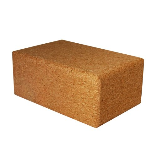 "Large Cork Yoga Block 9"" X 6"" X 4"""