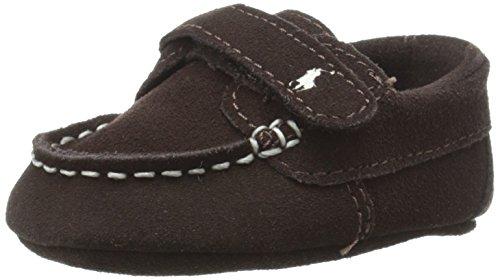 Ralph Lauren Layette Captain EZ Loafer (Infant/Infant), Brown, 0 M US Infant by Ralph Lauren Layette