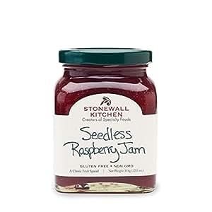 Stonewall Kitchen Jam, Seedless Raspberry, 12.5 Ounce