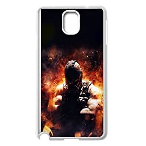 Samsung Galaxy Note 3 Cell Phone Case White_ac32 dark knight rises bane fire Vpkab