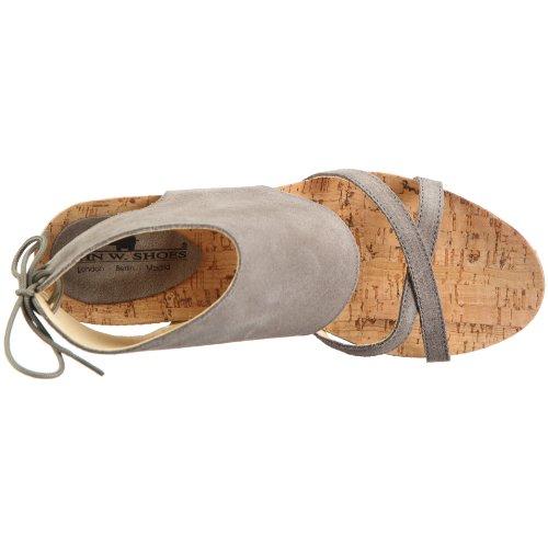 W femme 34 Sandales Gris Leticia Shoes c1 John 1083 tr mode BnZFqFx