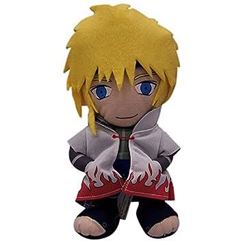 Naruto Shippuden cuarto Hokage Minato Namikaze de peluche: Amazon.es ...