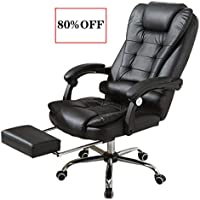 UAMSISTE High-Back Executive Swivel Office Computer Desk Chair