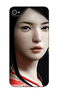 Crazinesswith Fashion Protective Asian Woman Case Cover For Iphone 5/5s