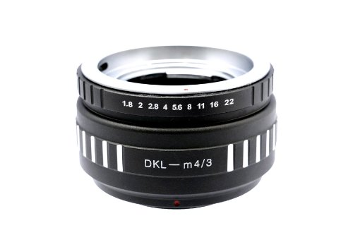 Photo Plus Voigtlander Retina DKL lens adapter for Panasonic Lumix / Olympus Pen Digital by Photo Plus