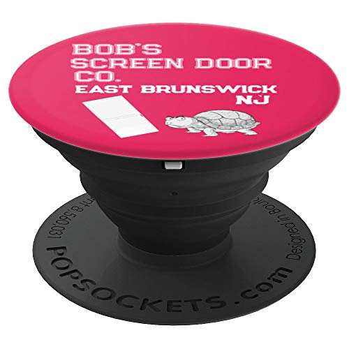 Bob's Screen Door Company East Brunswick New Jersey Retro PopSockets Grip and Stand for Phones and ()