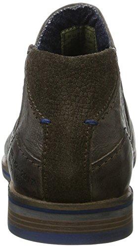 Bugatti 312173313200, Botas Chelsea para Hombre Gris (Grey)