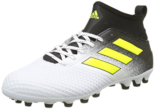 de 17 Ace Blanc Homme 3 Footwear Core Chaussures Football Yellow AG adidas Solar White Black gxqBX5wg