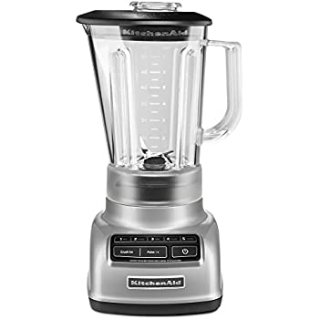 KitchenAid 5 Speed Blender RKSB1570MC, 56 Ounce, Metalic Chrome (Certified  Refurbished