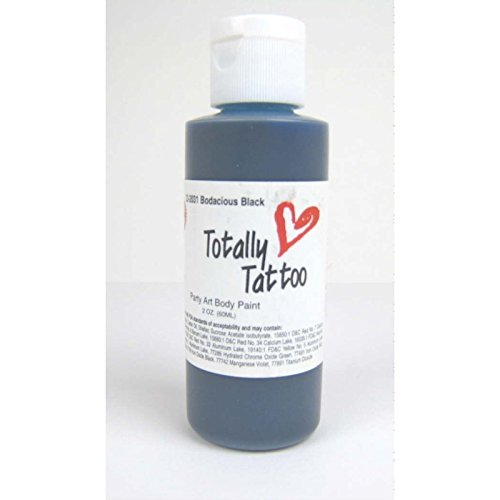 Badger Totally Temporary Tattoo Airbrush Paint Deep Blue/2 Oz